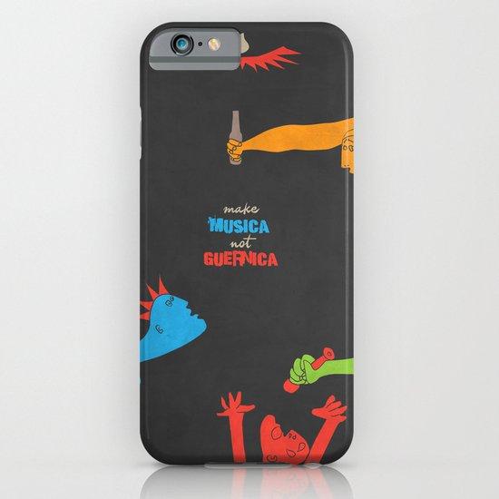 Make Musica Not Guernica iPhone & iPod Case