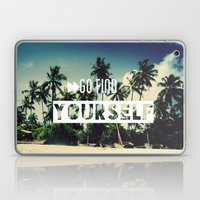 Go find yourself Laptop & iPad Skin