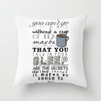One Direction: Little Th… Throw Pillow