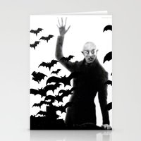 Nosferatu - the real bat Stationery Cards