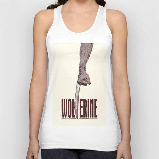 X-Men Origins: Wolverine Unisex Tank Top