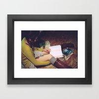 Bookish 05 Framed Art Print
