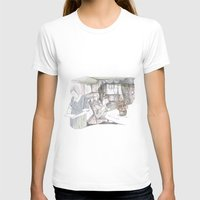 Maria, porfavor Womens Fitted Tee White SMALL