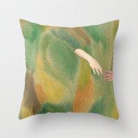 Avena Sativa Throw Pillow