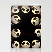 Nightmare before Christmas. Stationery Cards