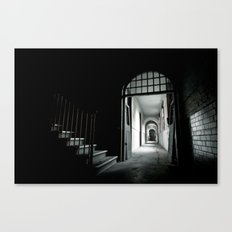 Where Angels fear to tread Canvas Print