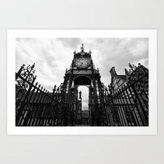 Eastgate Clock Art Print