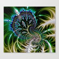 Leaf 0 Canvas Print