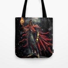 Epic Vincent Valentine Final Fantasy Painting Portrait Tote Bag