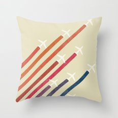 Aerial display (ver.2) Throw Pillow