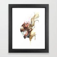 Zero Laser Framed Art Print