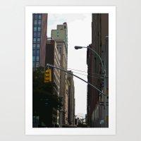 Slicelight Art Print
