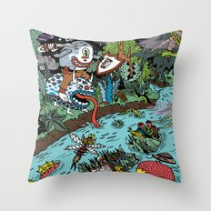 Some of us were born to explore!  Throw Pillow