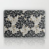 Patina Blossoms Laptop & iPad Skin