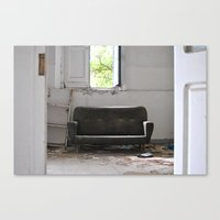 Abandoned Place Stanza Canvas Print