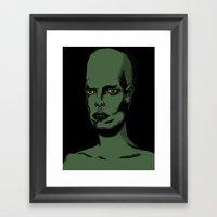 L'extraterrestre Framed Art Print