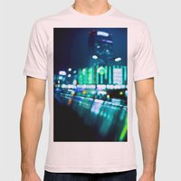 Nocturne Mens Fitted Tee Light Pink SMALL