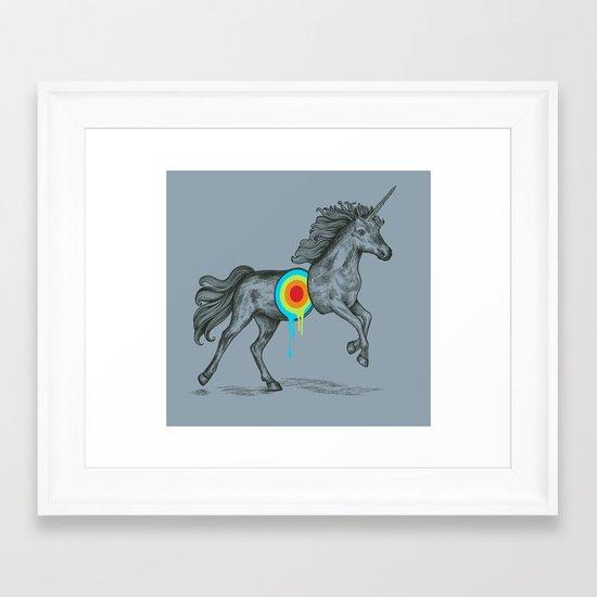 Unicore II Framed Art Print