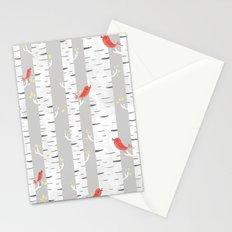 Birch Birds Stationery Cards