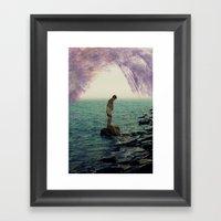 Silhouette II  Framed Art Print
