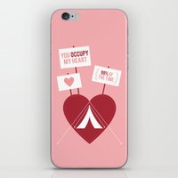 Occupy My Heart iPhone & iPod Skin