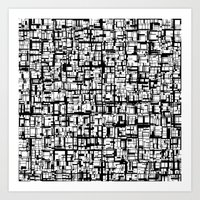 Abstract Mosaic  Art Print
