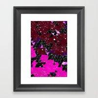 Shatter Framed Art Print