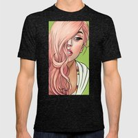 Goddess Of Love Mens Fitted Tee Tri-Black SMALL