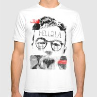 Hello.L.A. Mens Fitted Tee White SMALL