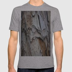 Bark Mens Fitted Tee Athletic Grey SMALL
