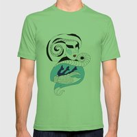 Cancer / 12 Signs Of The… Mens Fitted Tee Grass SMALL