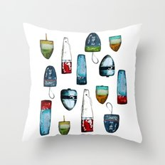 Bouys From Maine  Throw Pillow