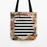 Modern Garden Tote Bag