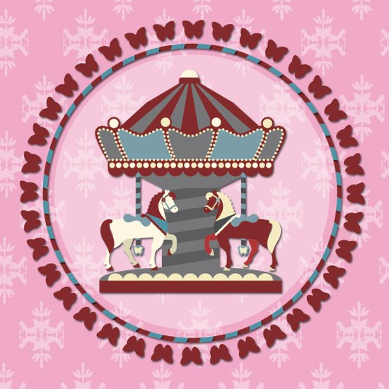 Merry Go 'Round Art Print