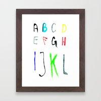 A.T.O.L Framed Art Print