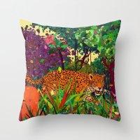 Amazonic Throw Pillow