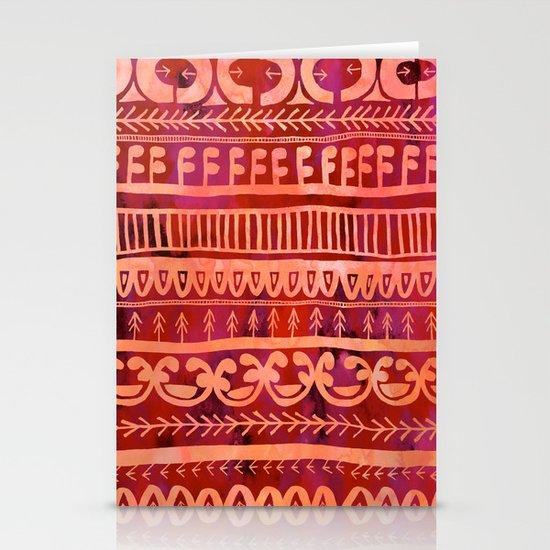 Noni- Orange Stationery Card