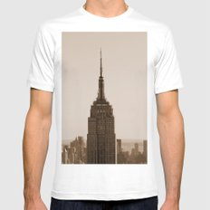 Welcome to the Empire... SMALL White Mens Fitted Tee