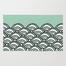 Waves Mint Rug