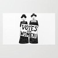 Votes For Women Rug