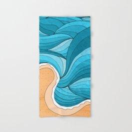Hand & Bath Towel - Beach Tide -  Steve Wade ( Swade)