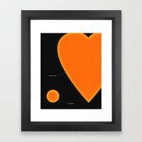 My Love For You Framed Art Print