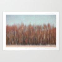 Wood Abstract Art Print