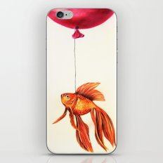 Dream About Flying iPhone & iPod Skin
