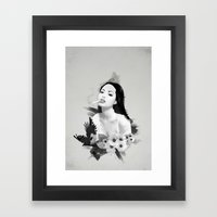 Fatal Beauty Framed Art Print