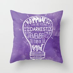 Turn on the Light Throw Pillow