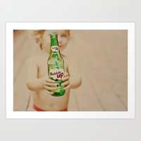 Bubble Up Art Print