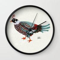 Pheasant Noble 2 Wall Clock