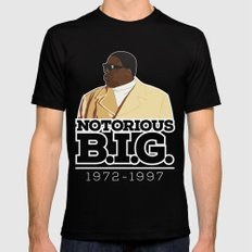 Christopher 'Notorious B.I.G.' Wallace Mens Fitted Tee Black SMALL