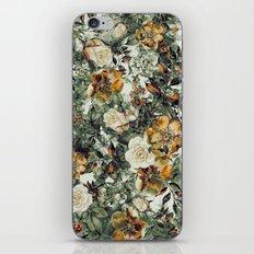 RPE FLORAL iPhone & iPod Skin